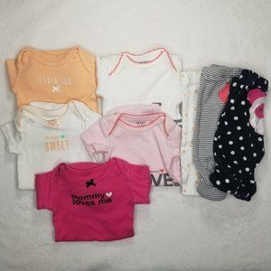 Carter's | Baby Girl Infant Matching Sets Lot